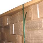 Abdeckrahmen aus Papierprofil, die ökologische Alternative