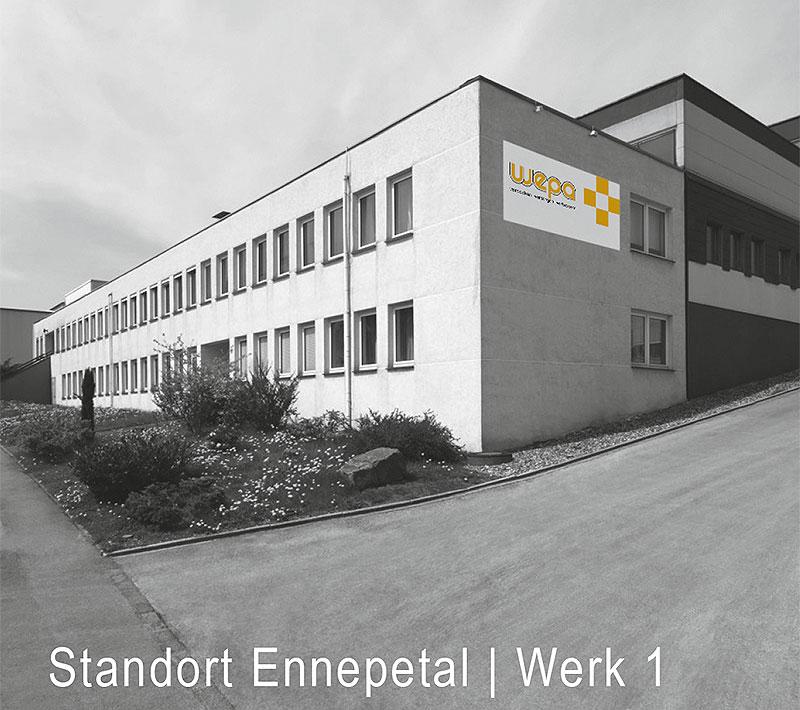 Wepa Standort Ennepetal Werk 1