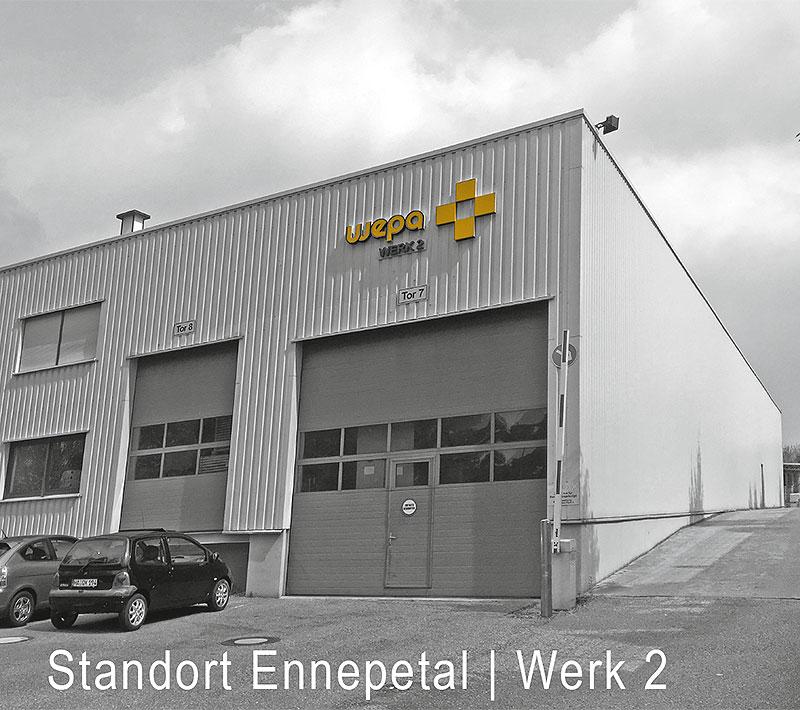 Wepa Standort Ennepetal Werk 2