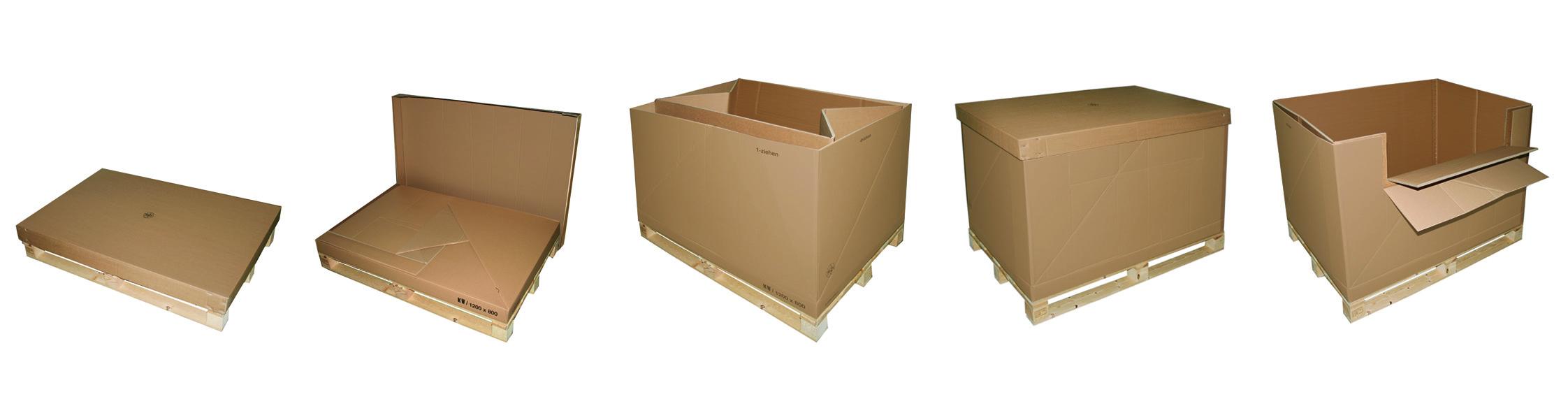 Mehrweg Containerkarton FLT