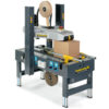 Optional: Kartonverschließer TigerClose in Kombination mit TigerFold ergänzt die Produktionskette.