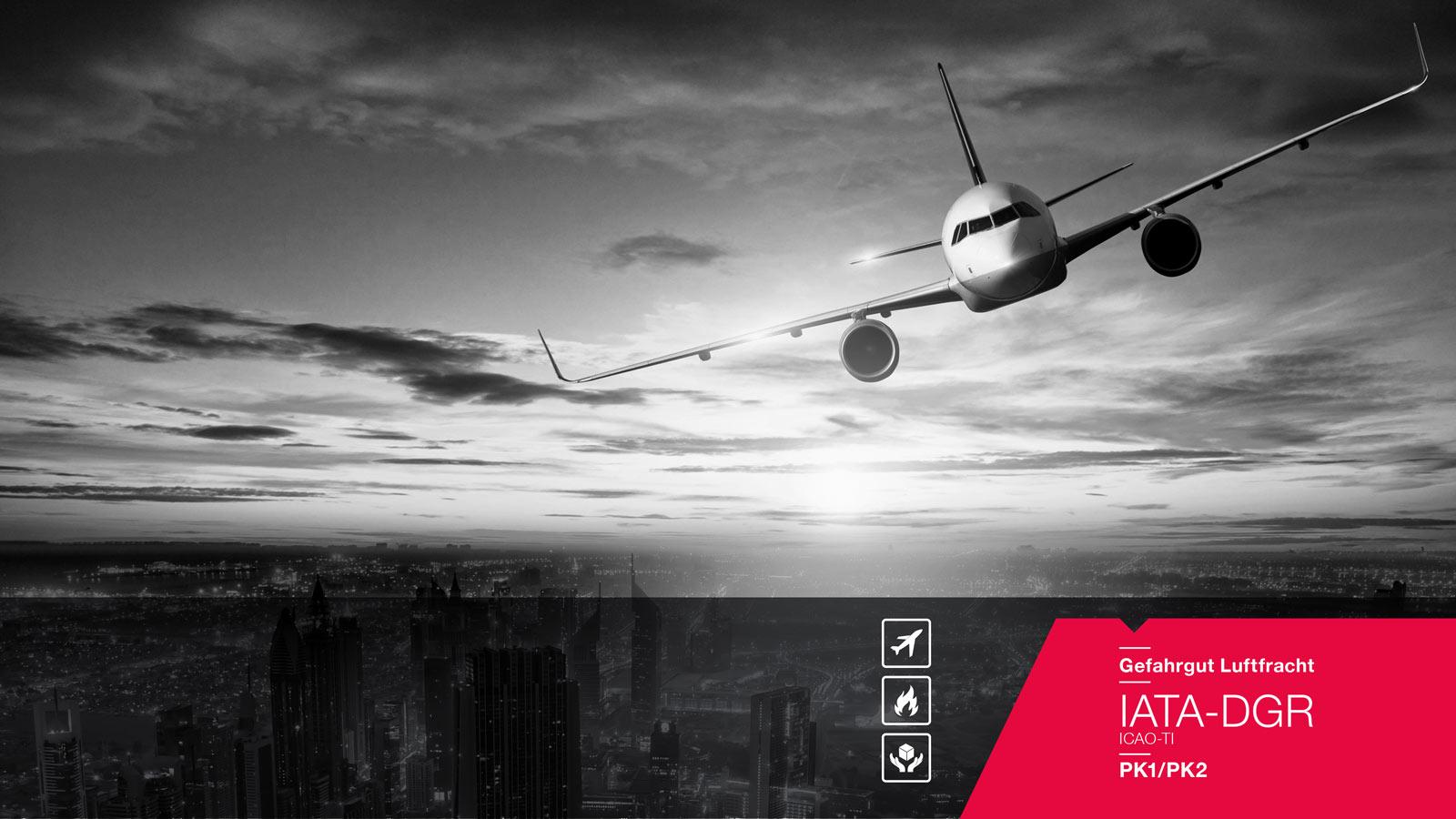 Gefahrgut Luftfracht – IATA-DGR / ICAO-TI (PK1/PK2)