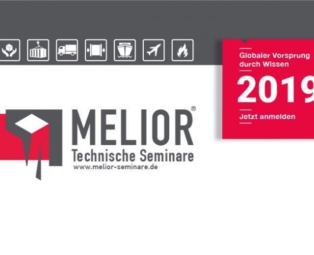 Melior | Technische, Seminare Anmeldungen für Seminare 2019
