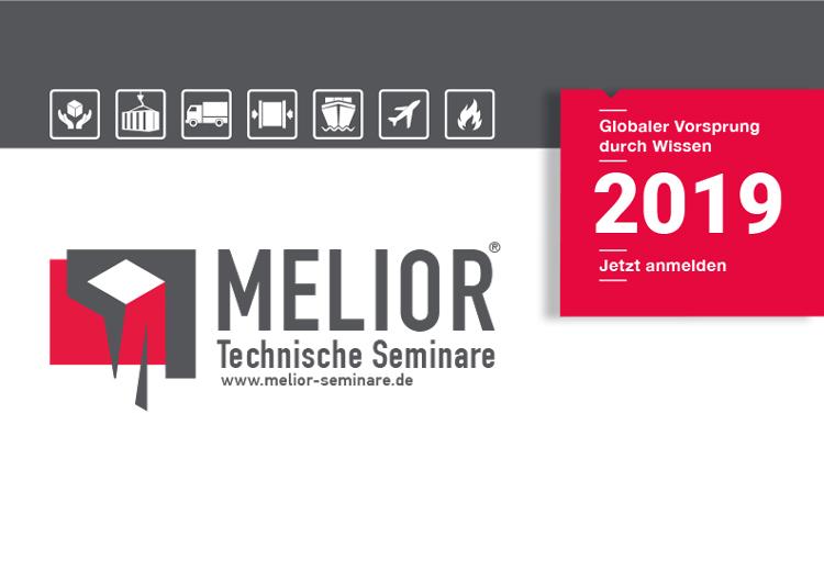 Melior | Technische Seminare, Anmeldungen für Seminare 2019