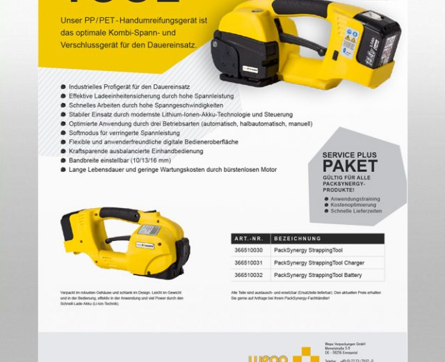 PackSynergy Strapping Tool