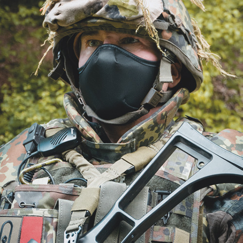 Beim Militär