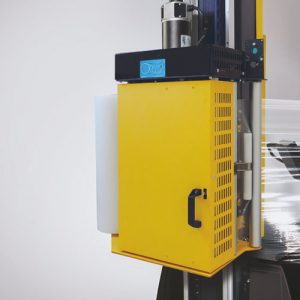 Folienschlitten LP mit motorischer Vorreckung 240%