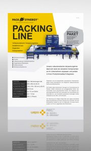 PackSynergy Packing Line, Vollautomatische Verpackungslinie