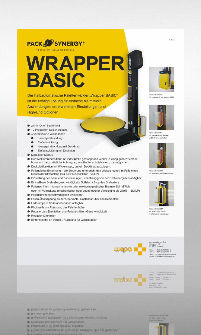 PackSynergy Wrapper Basic
