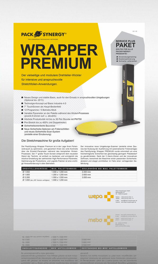 PackSynergy Wrapper Premium